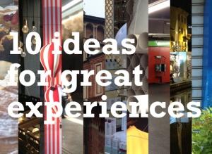 ideas on experience